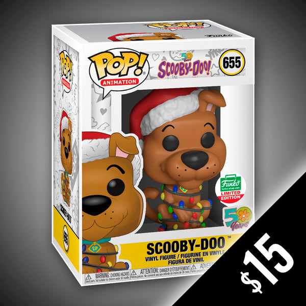 Funko Pop! Animation: Scooby-Doo with Christmas Lights #655