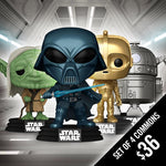 Funko Pop! Star Wars: Concept Series (Set of 4 Commons)
