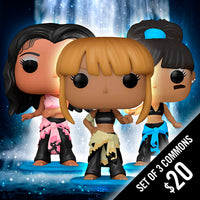 Funko Pop! Rocks: TLC (Set of 3 Commons)