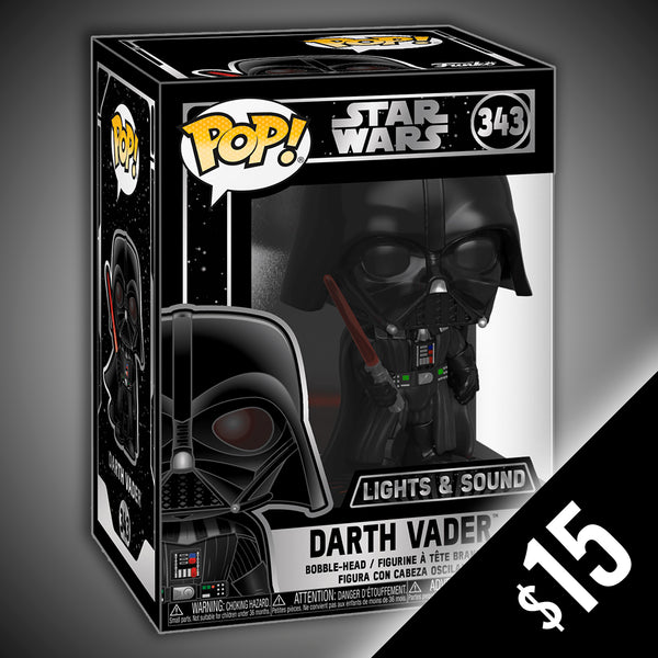 Funko Pop! Star Wars: Darth Vader - Electronic (Light up & Sound) #343