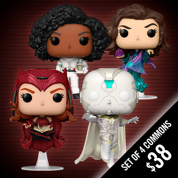 Pre-Order: Funko Pop! WandaVision S2 (Set of 4 Commons)