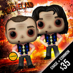 Funko Pop! Zombieland: Bill Murray (Common + Chase) Set