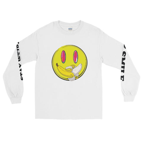 """Stay Weird & Smile"" Long Sleeve"