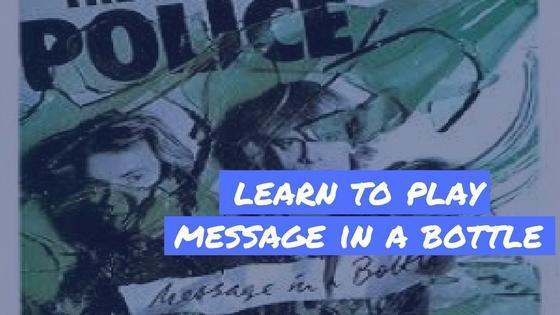 "Learn to Play ""Message In A Bottle"" by The Police on Ukulele"
