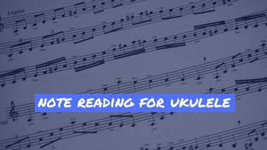 Lesson on Note Reading For Ukulele with Jeffrey Thomas