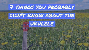 Ukulele Facts: 7 things you probably didn't know about the ukulele