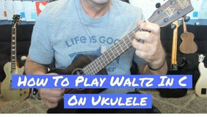 How To Play Waltz In C Major On Ukulele By Ferdinando Carulli