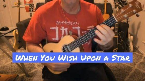 "How To Play ""When You Wish Upon A Star"" on Ukulele"