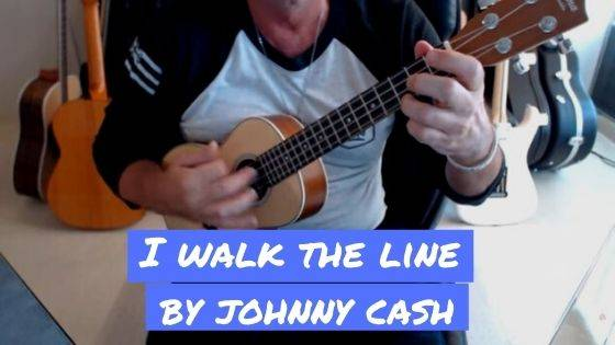 How To Play Johnny Cash's I Walk The Line On Ukulele