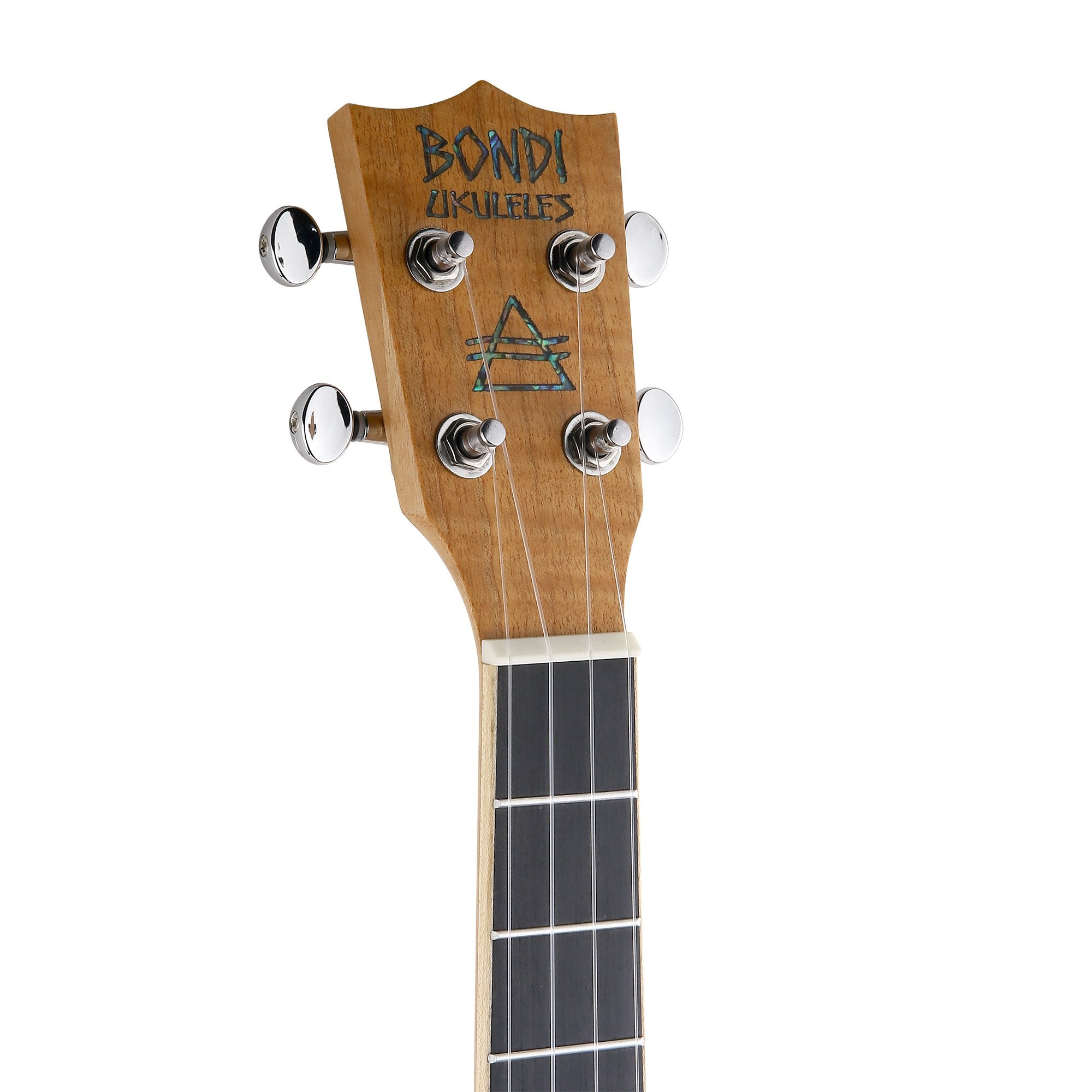 Bondi Tiger Oak Baritone Ukulele Bundle - Left Handed