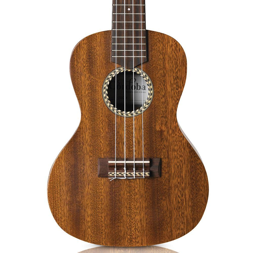 Cordoba 20 Series Concert Mahogany Ukulele Ultimate Bundle