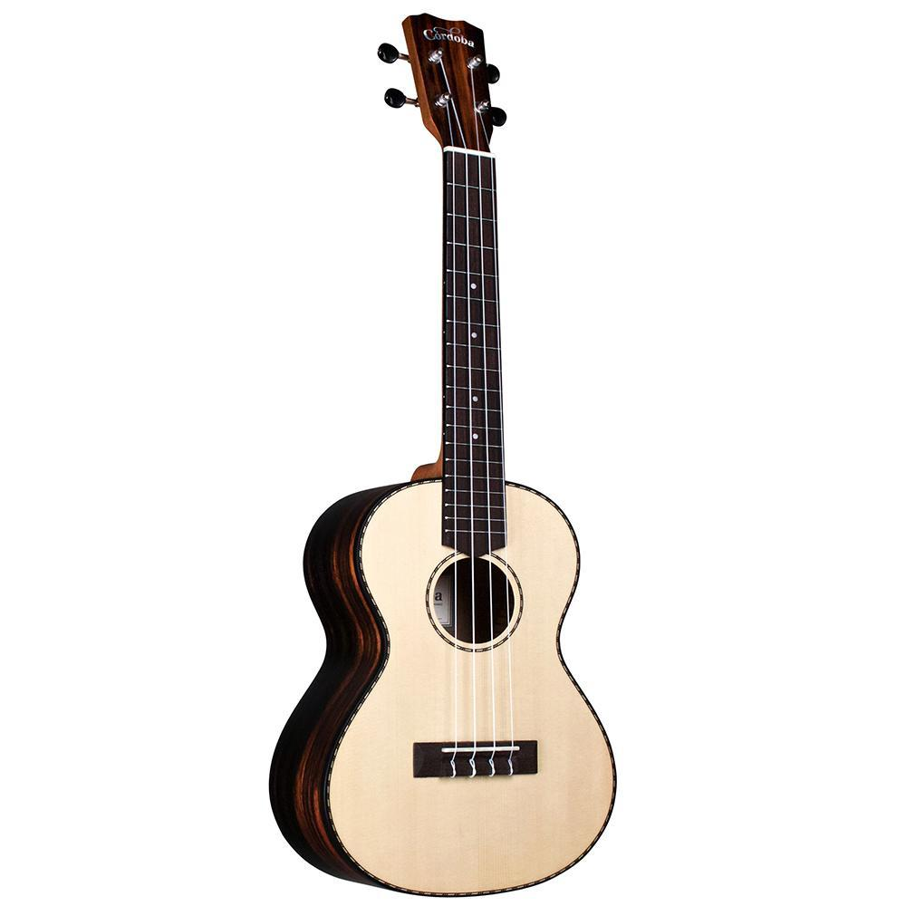 Cordoba 21C Concert Spruce Top Ukulele Ultimate Bundle
