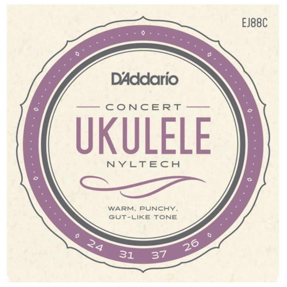 D'Addario Nyltech Ukulele Strings for Concert