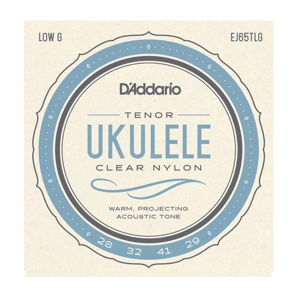 D'Addario Pro Arte Custom Extruded Ukulele Strings for Tenor - Low G