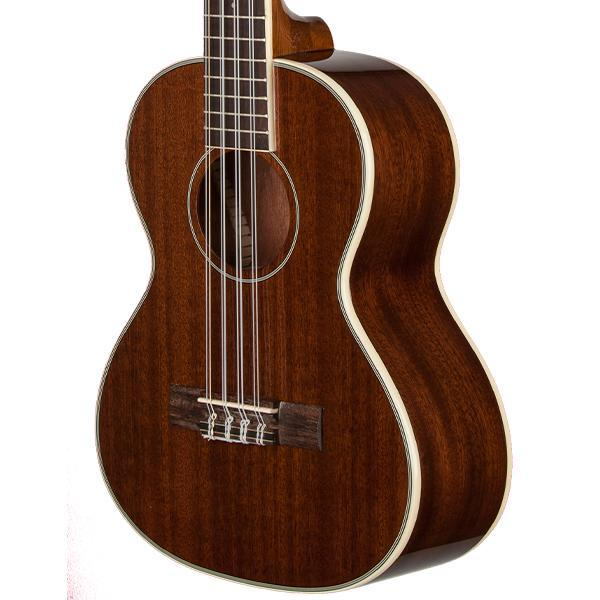 Kala Gloss Mahogany 8-String Tenor Ukulele Tribal Bundle