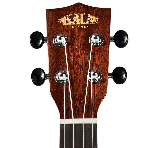Kala Solid Spruce Travel Concert Electric Ukulele