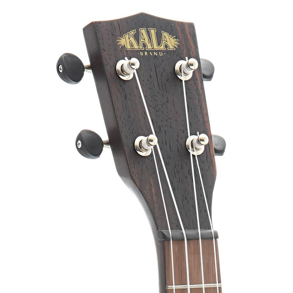 Kala Striped Ebony Soprano Ukulele Tribal Bundle