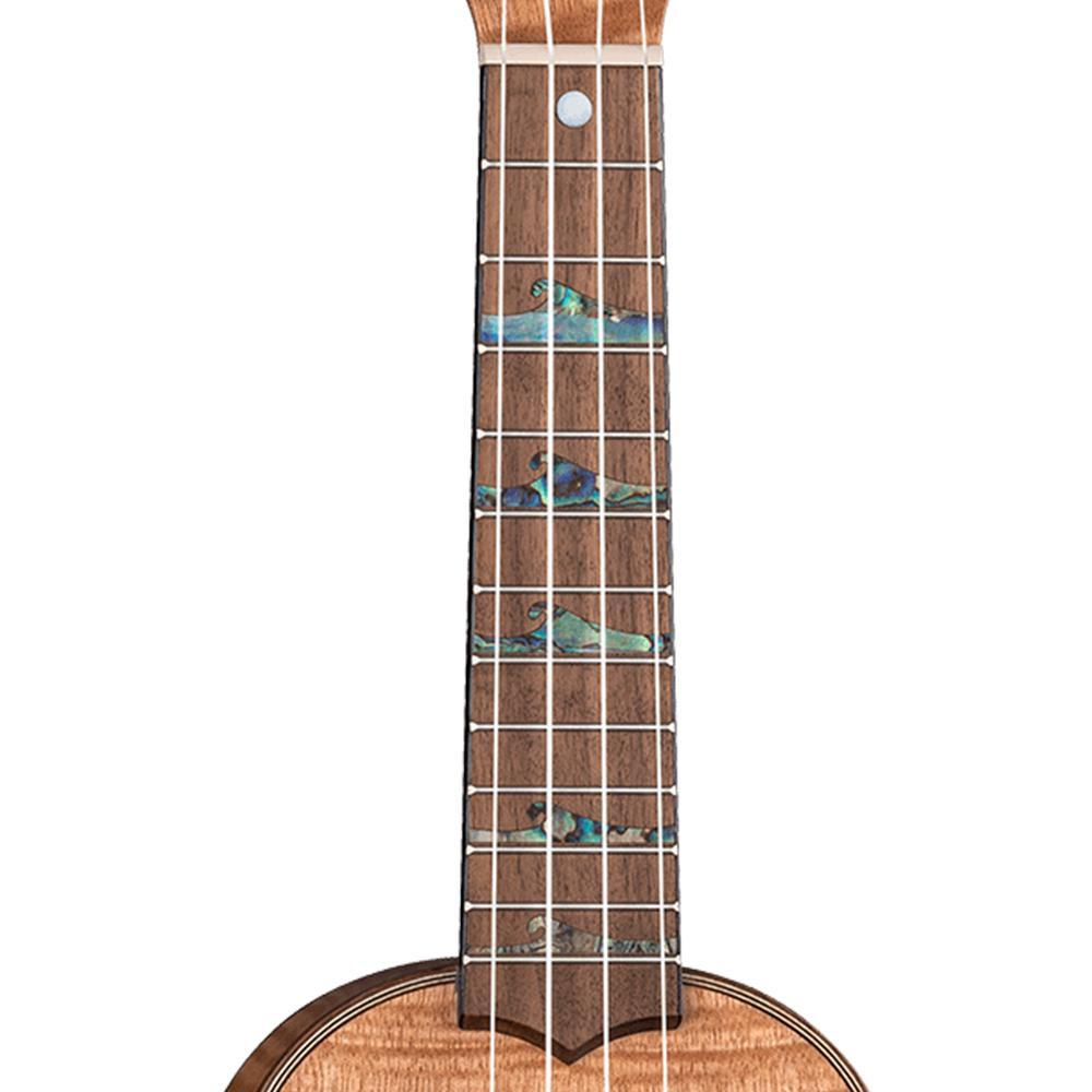 Luna High Tide Exotic Soprano Ukulele Bundle