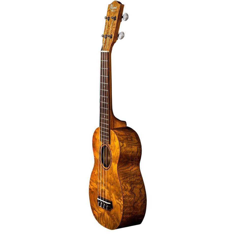 Ohana Soprano Willow Ukulele Tribal Bundle