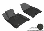 ACURA TL FWD 2009-2014 KAGU BLACK Front Row Floor Mat Set