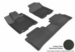 ACURA RDX 2013-2018 KAGU BLACK Front/2nd Row Floor Mat Package