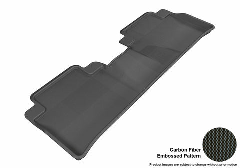 ACURA RDX 2013-2018 KAGU BLACK 2nd Row Floor Mat