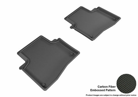 ACURA RLX 2014-2019 KAGU BLACK 2nd Row Floor Mat