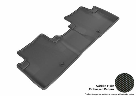 ACURA ILX 2013-2019 KAGU BLACK 2nd Row Floor Mat