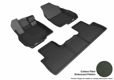 ACURA RDX 2019 KAGU BLACK Front/2nd Row Floor Mat Package