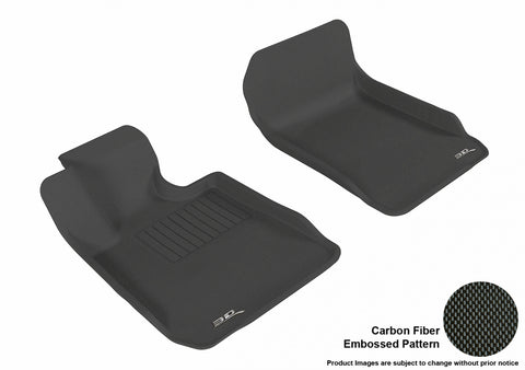 BMW 3 SERIES SEDAN SDRIVE 2006-2011/ COUPE SDRIVE2007-2013 KAGU BLACK Front Row