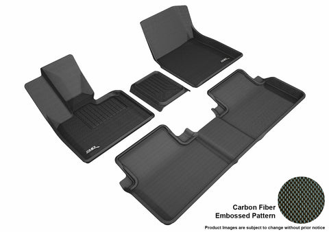 BMW I3 2014-2019 KAGU BLACK Front/2nd Row Package (3PCS Front Row)