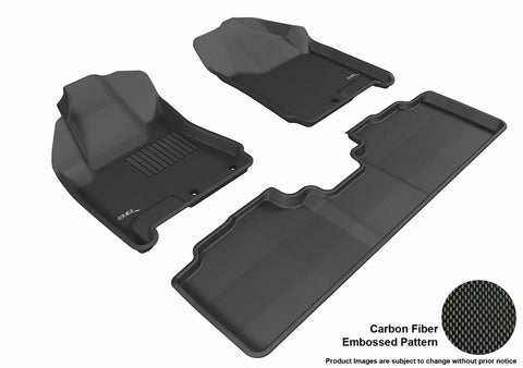 CADILLAC SRX 2010-2016 KAGU BLACK Front/2nd Row Package