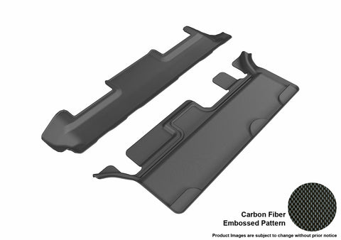 CHEVROLET TAHOE/ GMC YUKON WITH BENCH 2ND ROW 2015-2019 KAGU BLACK 3rd Row