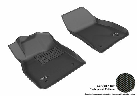 CHEVROLET MALIBU 2013-2015 KAGU BLACK Front Row