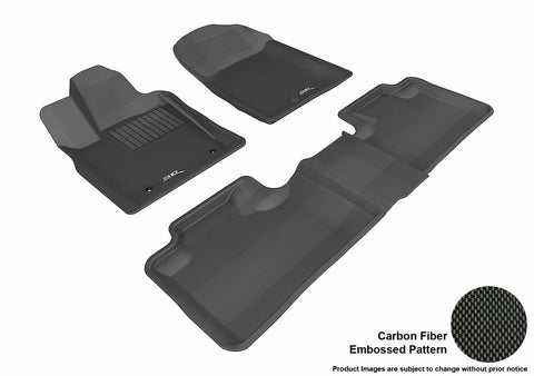 DODGE DURANGO WITH BENCH 2ND ROW 2011-2012 KAGU BLACK Front/2nd Row Package
