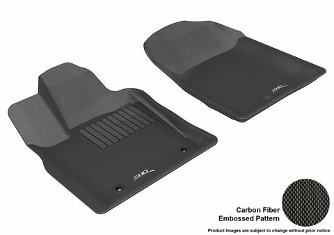 DODGE DURANGO 2011-2012/ JEEP GRAND CHEROKEE 2011-2013 KAGU BLACK Front Row