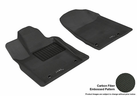DODGE DURANGO 2012-2019/ JEEP GRAND CHEROKEE 2013-2019 KAGU BLACK Front Row (2 POSTS IN PASSENGER'S SIDE)