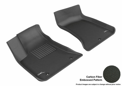 DODGE CHARGER RWD/ CHRYSLER 300/ 300C RWD 2011-2019 KAGU BLACK Front Row