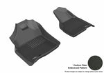 DODGE RAM 1500 REGULAR CAB/ QUAD CAB 2009-2012/ 2500/3500 REGULAR CAB 2010-2012 KAGU BLACK Front Row (1 EYELET)
