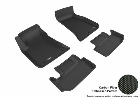 DODGE CHALLENGER 2011-2014 KAGU BLACK Front/2nd Row Package