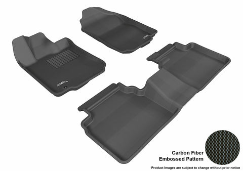 FORD FUSION 2006-2012 KAGU BLACK Front/2nd Row Package (1 EYELET)