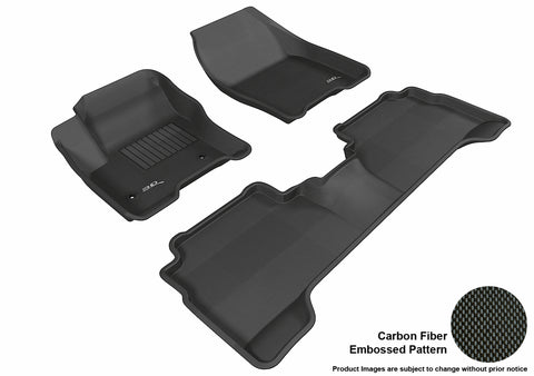 FORD C-MAX 2013-2018/ ESCAPE 2013-2014 KAGU BLACK Front/2nd Row Package