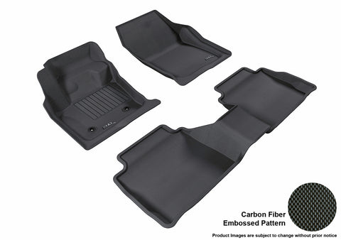 FORD FUSION 2013-2016 KAGU BLACK Front/2nd Row Package