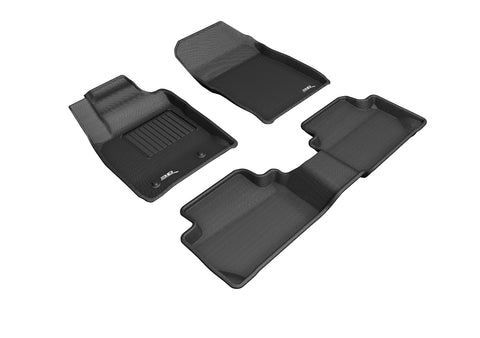 FORD ECOSPORT 2018-2020 KAGU BLACK Front/2nd Row Floor Mat Package