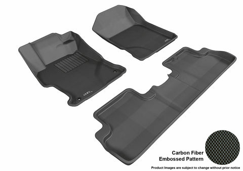 HONDA CIVIC COUPE 2012-2013 KAGU BLACK Front/2nd Row Package