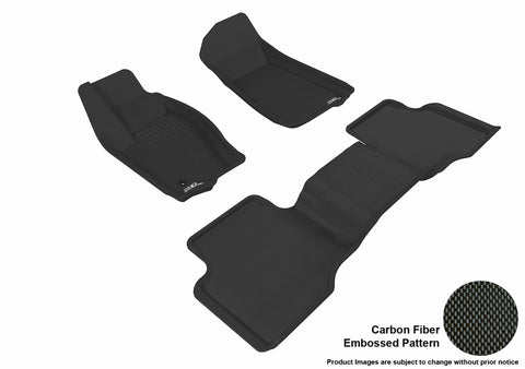 JEEP GRAND CHEROKEE 2005-2010 KAGU BLACK Front/2nd Row Package