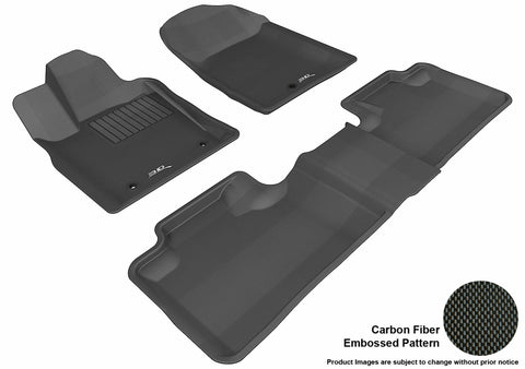 JEEP GRAND CHEROKEE 2011-2013 KAGU BLACK Front/2nd Row Package