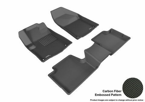 JEEP CHEROKEE 2014-2015 KAGU BLACK Front/2nd Row Package