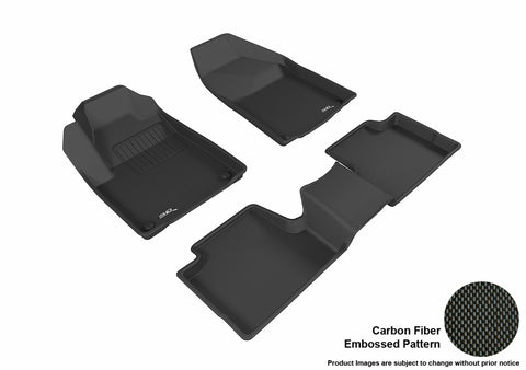 JEEP CHEROKEE 2015-2019 KAGU BLACK Front/2nd Row Package