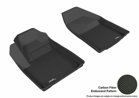 JEEP CHEROKEE 2015-2019 KAGU BLACK Front Row